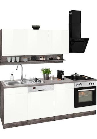 HELD MÖBEL Küchenzeile »Virginia«, ohne E-Geräte, Breite 220 cm kaufen