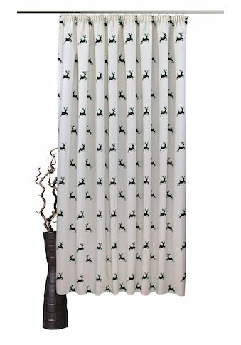 VHG Vorhang nach Maß »Hans Hirsch«, Leinenoptik, Breite 150 cm kaufen