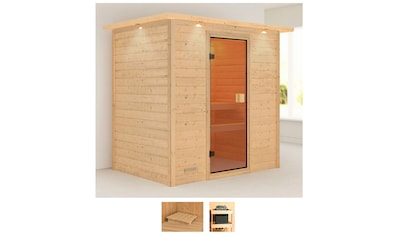 Karibu Sauna »Romina«, ohne Ofen kaufen