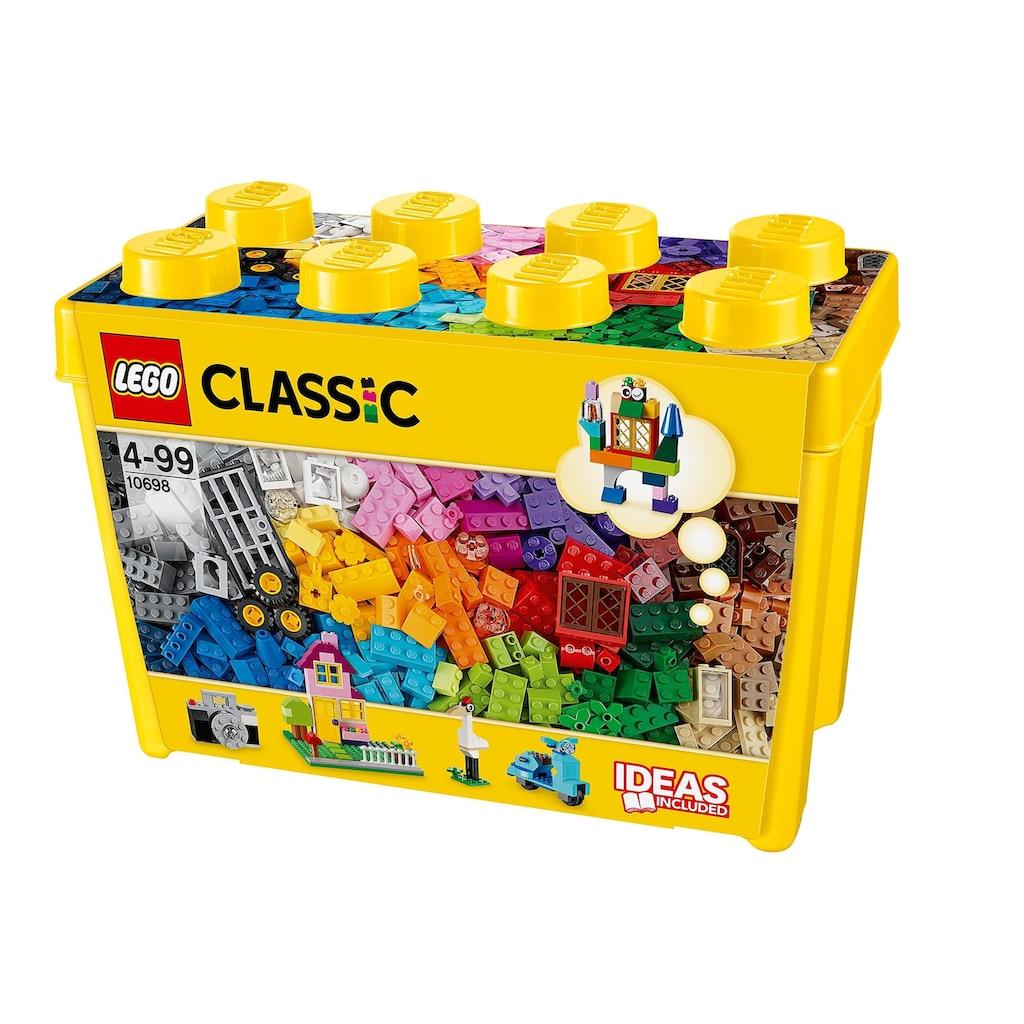 LEGO® Konstruktionsspielsteine »Große Steine-Box (10698), LEGO® Classic«, (790 St.), Made in Europe