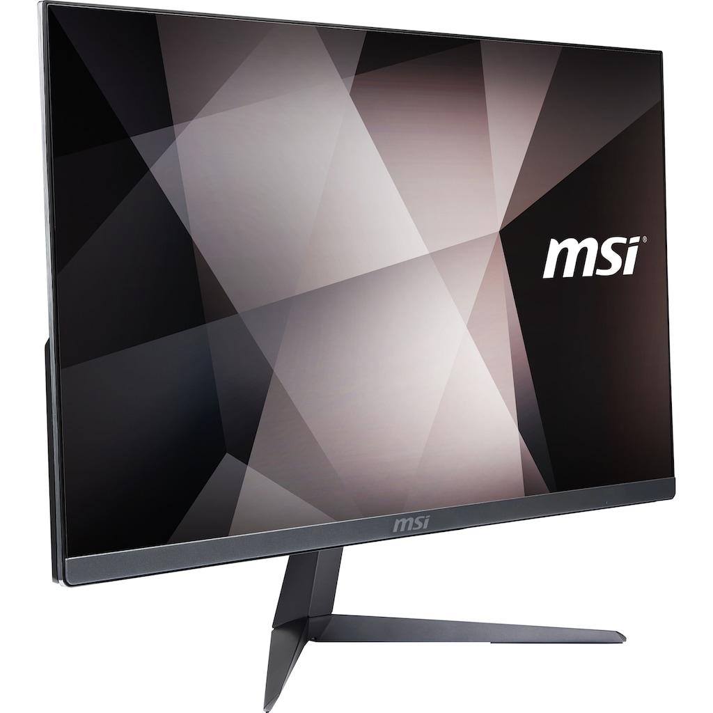 "MSI PRO 24X 10M-051DE All-in-One »60 cm (23,8"") Intel Core i5,256 GB, 8 GB«"