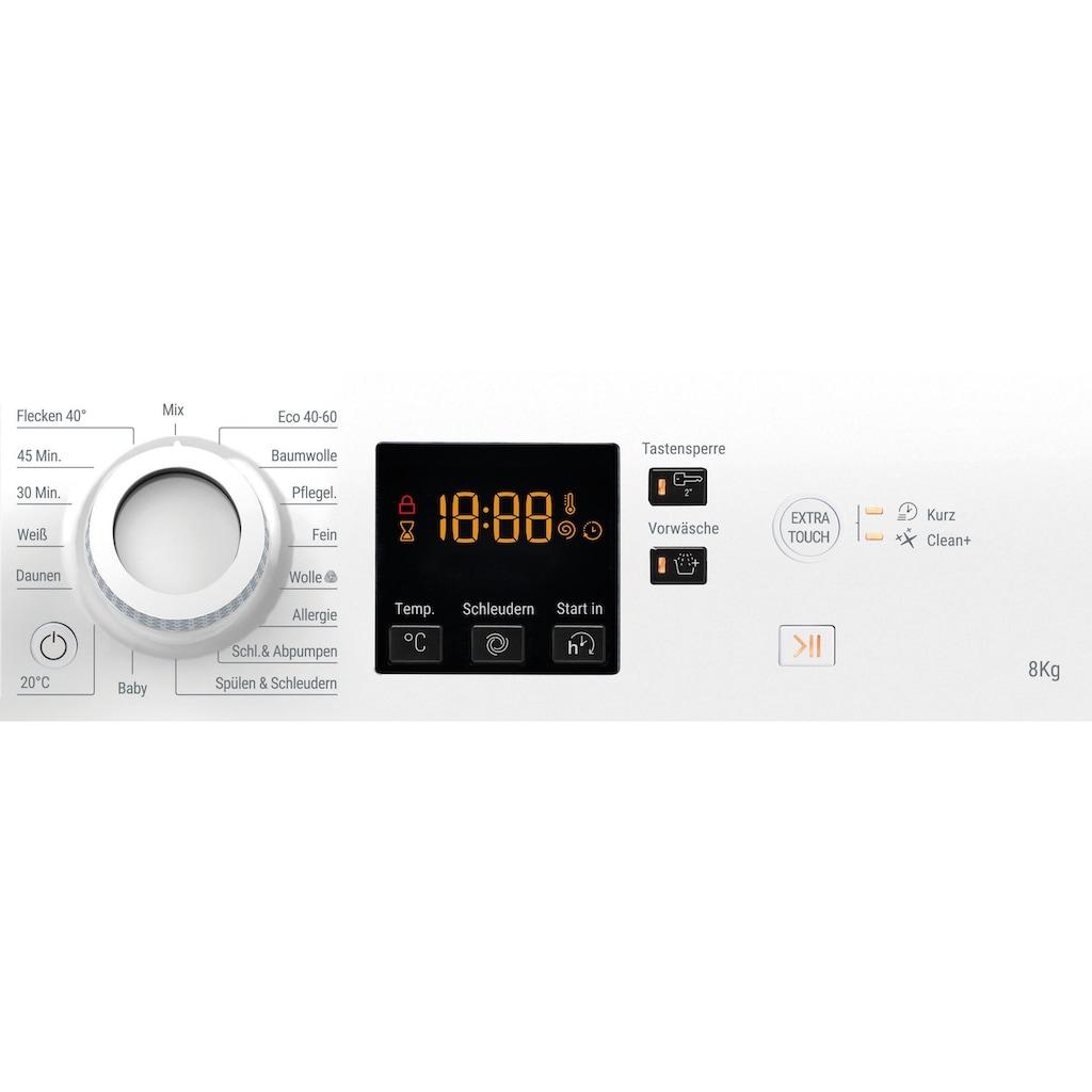 BAUKNECHT Waschmaschine »WWA 843«, WWA 843, 8 kg, 1400 U/min