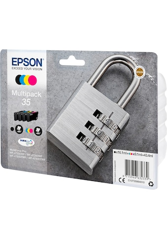 Epson Tintenpatrone »EPSON 35 Ink Multipack, CMYK (C13T35864010)« kaufen