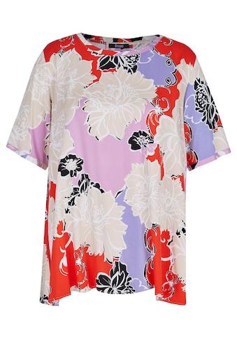 FRAPP Shirtbluse, mit geblümtem Allover-Muster kaufen