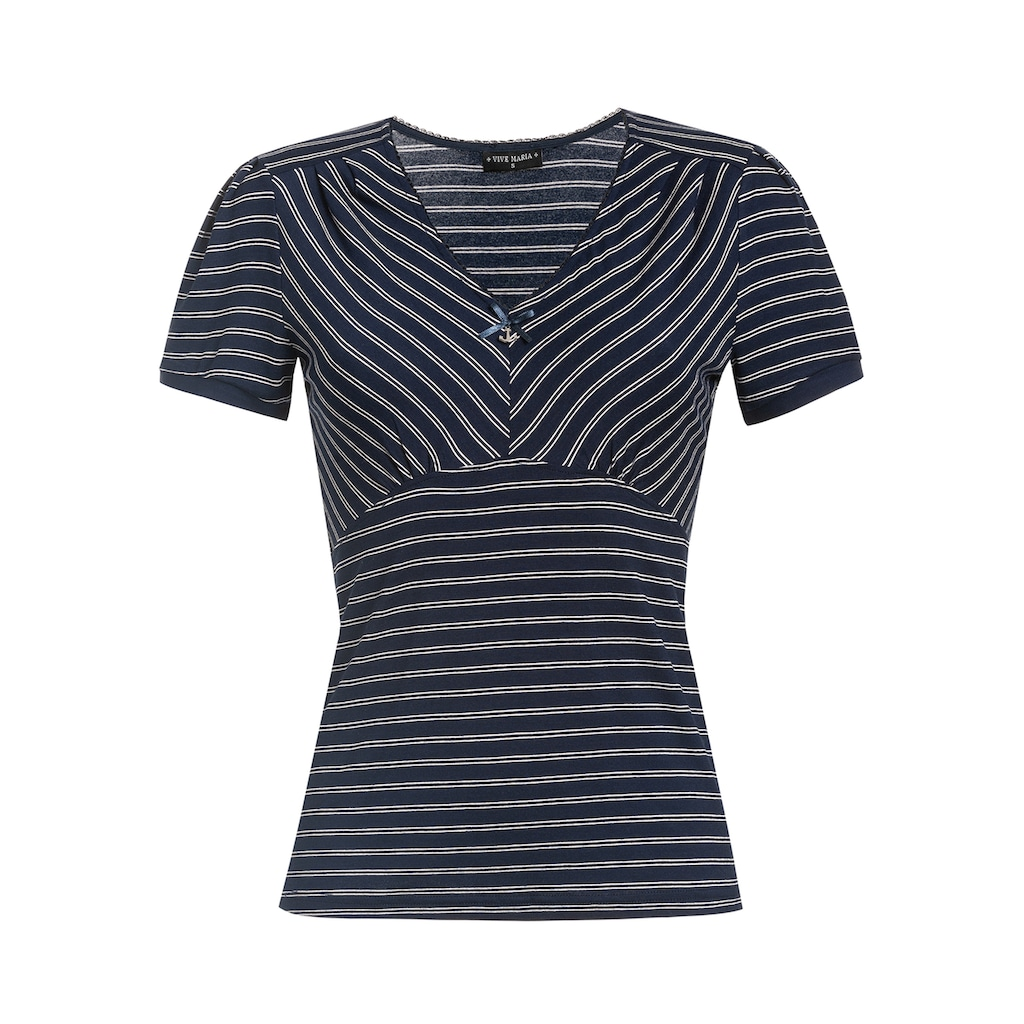 Vive Maria V-Shirt »Kiss Me Captain«