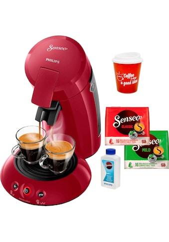 Senseo Kaffeepadmaschine »HD6554/90 New Original«, inkl. Gratis-Zugaben im Wert von 21,99 UVP kaufen