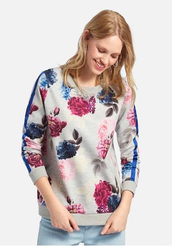 MYBC Sweatshirt »Sweatshirt«, mit Blüten-Motiven kaufen