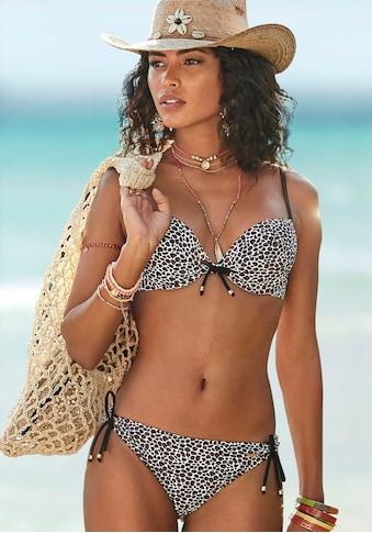 Bruno Banani Push-Up-Bikini, mit Zierperlen kaufen