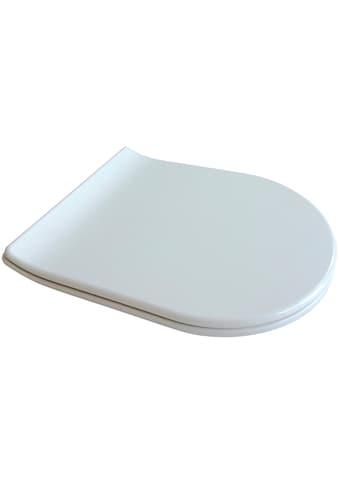 ADOB WC - Sitz »Design mit Absenkautomatik«, Slimline, auf Knopfdruck von der Keramik abnehmbar kaufen