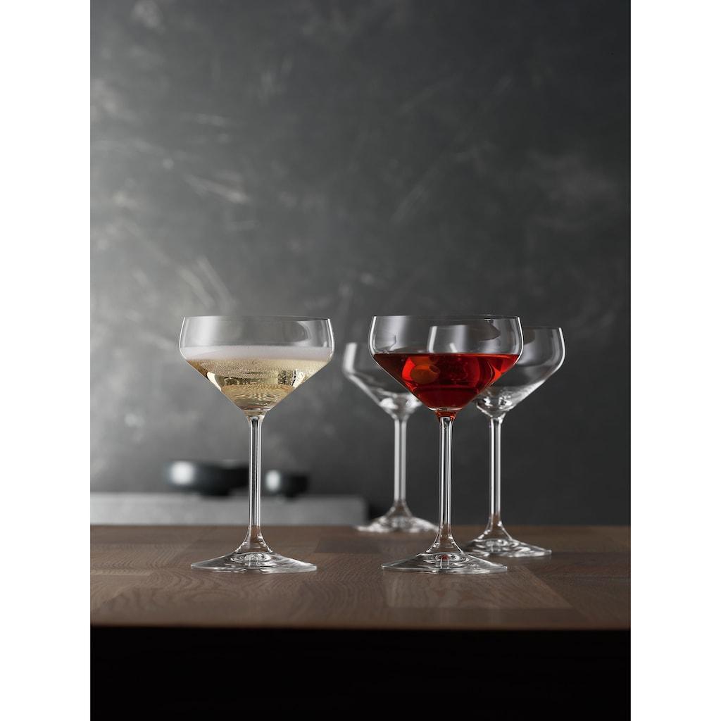 SPIEGELAU Cocktailglas »Coupette«, (Set, 4 tlg.), 4-teilig, 170 ml
