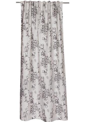 Vorhang nach Maß, »Vintage«, SCHÖNER WOHNEN - Kollektion, verdeckte Schlaufen 1 Stück kaufen