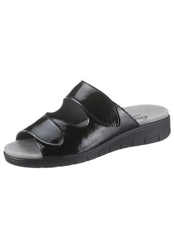 Semler Pantolette »DUNJA«, in Schuhweite H (=sehr weit) kaufen