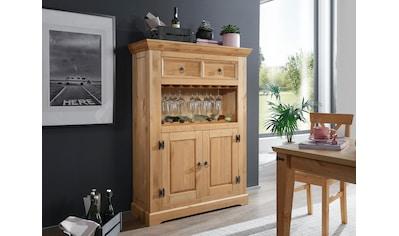 Premium collection by Home affaire Barschrank »Brasilia«, aus Massivholz kaufen