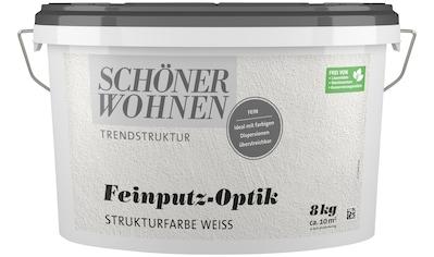 SCHÖNER WOHNEN-Kollektion Wand- und Deckenfarbe »Feinputz-Optik fein weiss« kaufen