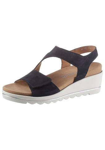 Gabor Sandalette »ATHEN«, mit zwei Klettverschlüssen kaufen