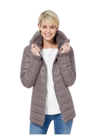 Casual Looks Jacke mit formgebenden Teilungsnähten vorne und hinten kaufen