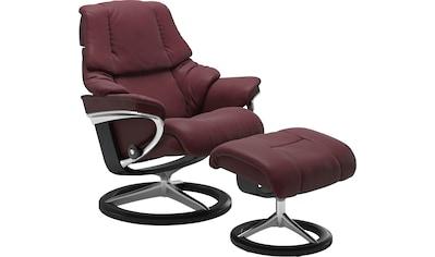 Stressless® Relaxsessel »Reno« (Set, 2 - tlg., Relaxsessel mit Hocker) kaufen