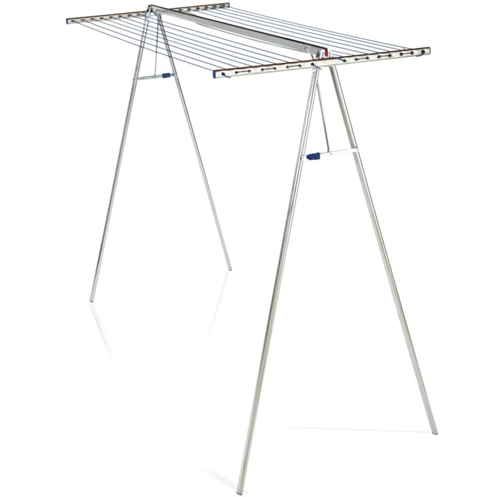 Leifheit Wäscheständer »Linomaxx 320 Aluminium«, abnehmbarer Leinenaufsatz