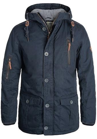Solid Langjacke »Clark Jacke«, warme Jacke mit hochabschließendem Kragen kaufen