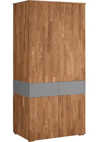 Home affaire Garderobenschrank »Kristian«, mit Push-to-open und Soft-Close Funktionen kaufen