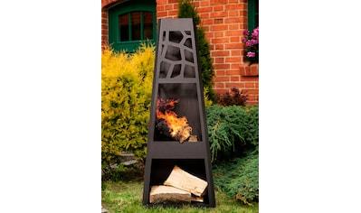 dobar Feuerstelle »Design XL«, Gartenkamin, BxLxH: 48x30,5x124 cm kaufen