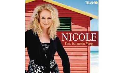 Musik-CD »DAS IST MEIN WEG / NICOLE« kaufen