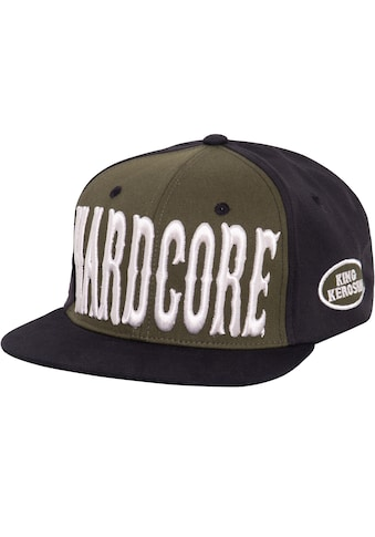 KingKerosin Flat Cap »Hardcore 3D«, mit Print und 3D-Stickerei kaufen