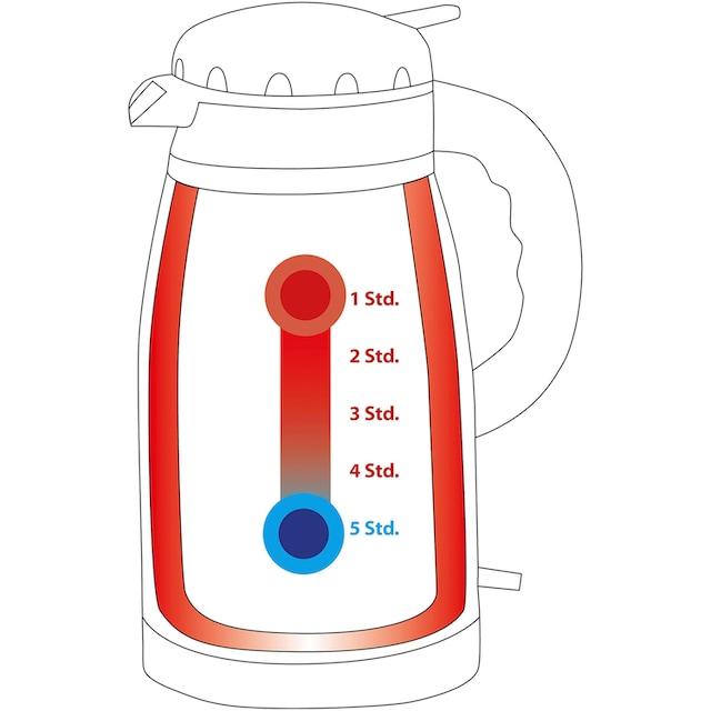 ProfiCook Wasserkocher, PC-WKS 1148 T, 1,5 Liter, 1630 Watt