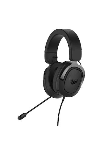 Asus TUF H3 Gun Metal Gaming Headset »7.1 - Surround - Sound,tiefem Bass,leichtem Design« kaufen