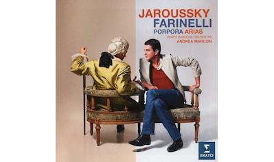 Musik-CD »Farinelli-Porpora Arias / JAROUSSKY/BARTOLI/VENICE BAROQUE ORCHESTRA« kaufen
