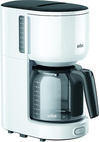 Braun Filterkaffeemaschine KF 3120 WH, Papierfilter 1x4 kaufen