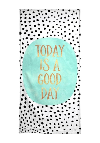 "Strandtuch ""Today Is a Good Day"", Juniqe kaufen"
