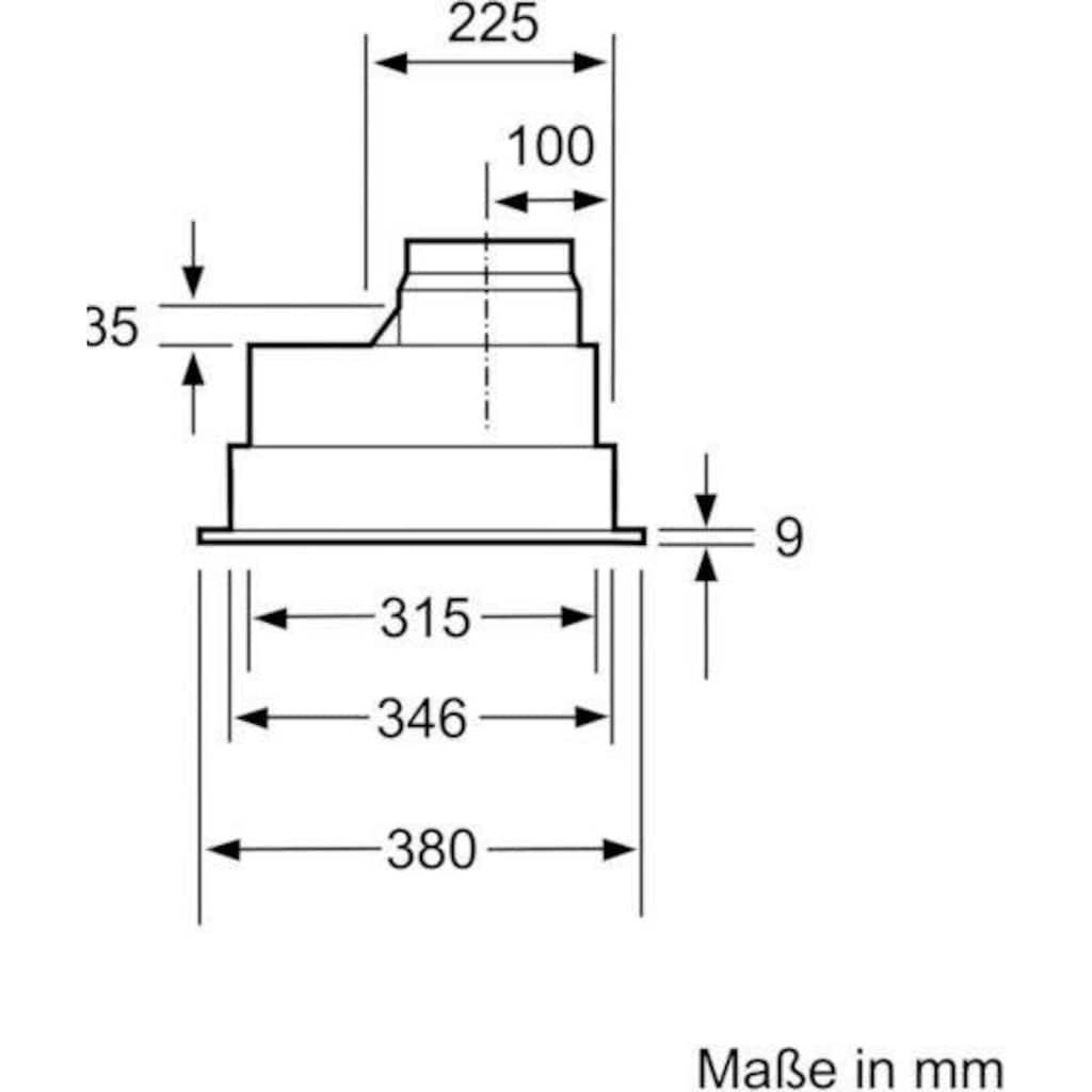 BOSCH Deckenhaube »DHL755BL«, Serie 4