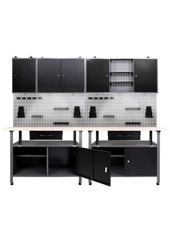 ONDIS24 Werkstatt - Set 240 cm, mit 2 LED Lampen kaufen
