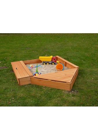 PROMADINO Sandkasten »MULTI«, BxL: 260x172 cm, mit Bugbox + Sitzbox kaufen