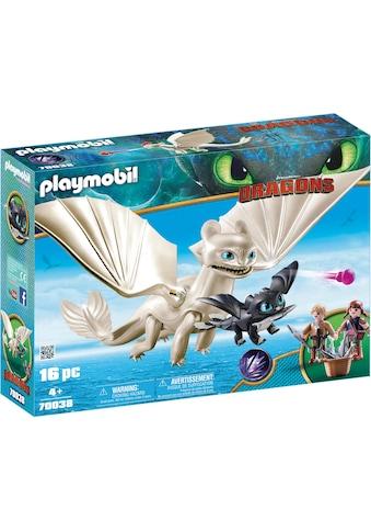 Playmobil® Konstruktions-Spielset »Light Fury Spielset (70038), Dragons«, Made in Germany kaufen