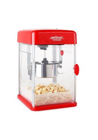 ONECONCEPT Popcorn maker Rührwerk Popcornmaschine Puffmais elektrisch 350W kaufen
