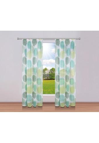 my home Gardine »Belem«, Vorhang, Fertiggardine, transparent kaufen