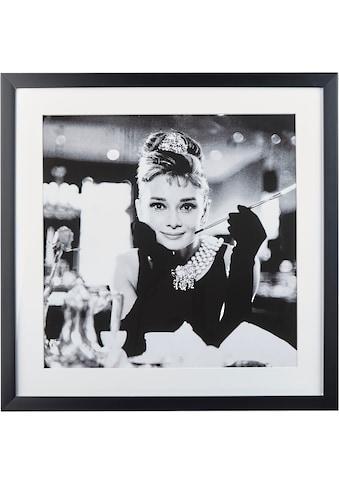G&C Bild »Celebrities: Audrey Hepburn Motiv 2«, 40/40 cm, gerahmt kaufen