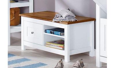 Home affaire Sitzbank »Abelina«, erstrahlt in einer schönen Holzoptik, mit einem... kaufen