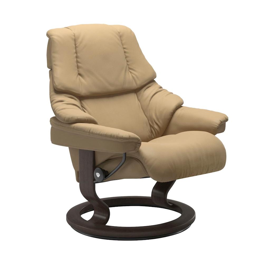 Stressless® Relaxsessel »Reno« (Set, 2-tlg., Relaxsessel mit Hocker)