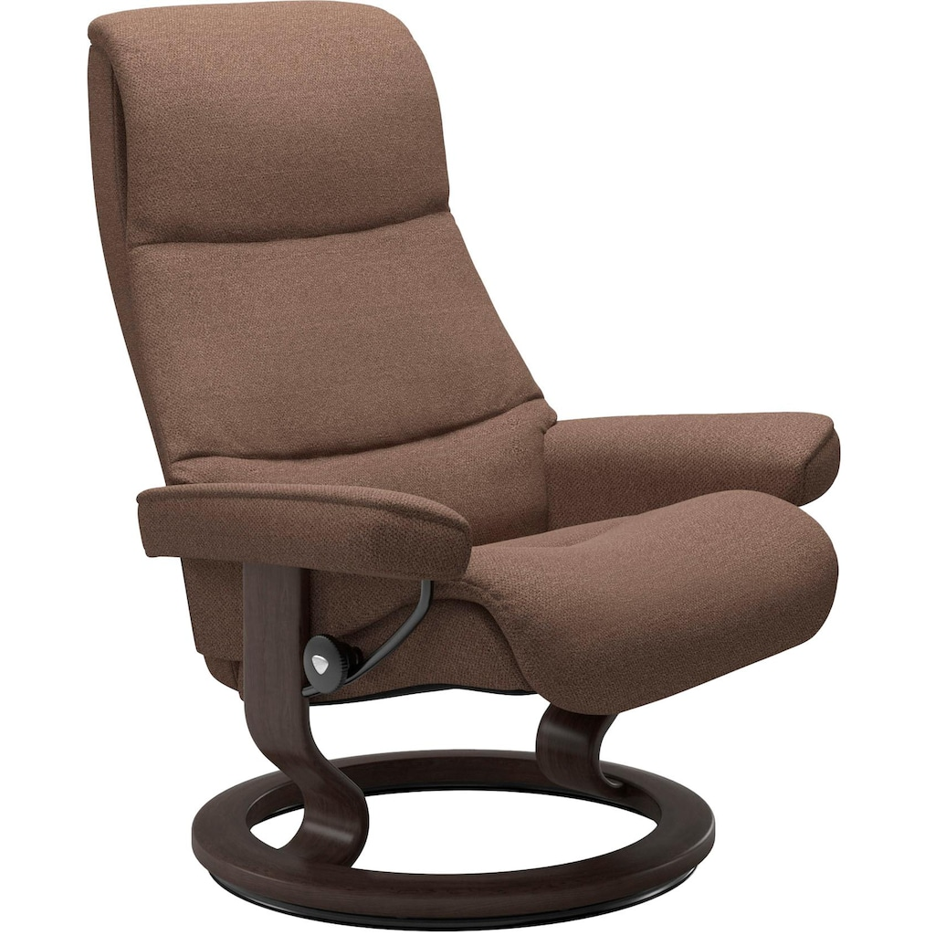 Stressless® Relaxsessel »View«, mit Classic Base, Größe M,Gestell Wenge