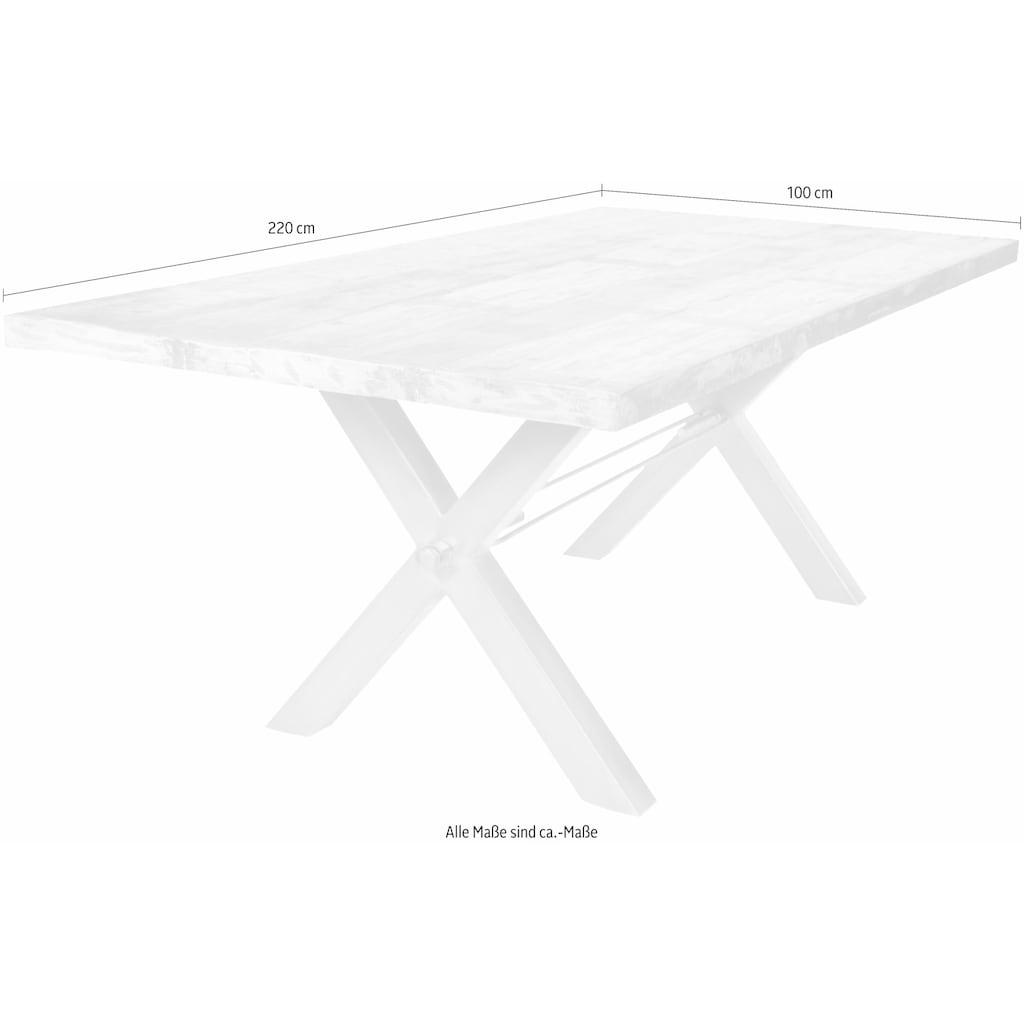 SIT Esstisch »Tops«, aus recyceltem Altholz