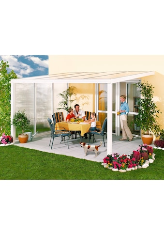 Beckmann Terrassendach »Exklusiv 2«, BxT: 407x271 cm, mit Regenrinne kaufen