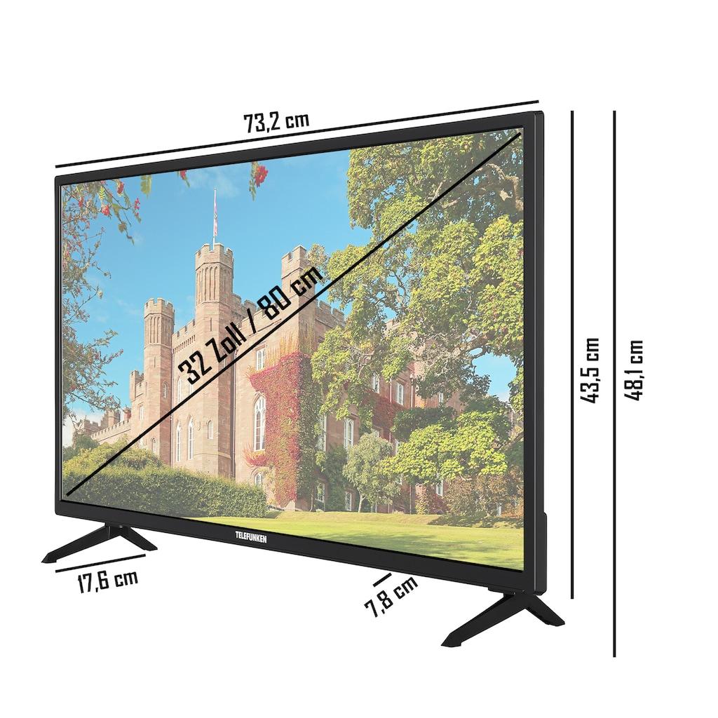 """Telefunken LED-Fernseher »XF32J519D«, 80 cm/32 """", Full HD, Smart-TV"""