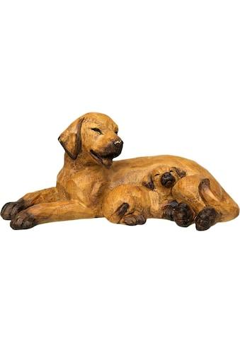 Ambiente Haus Dekofigur »Hund mit Welpe«, liegend kaufen