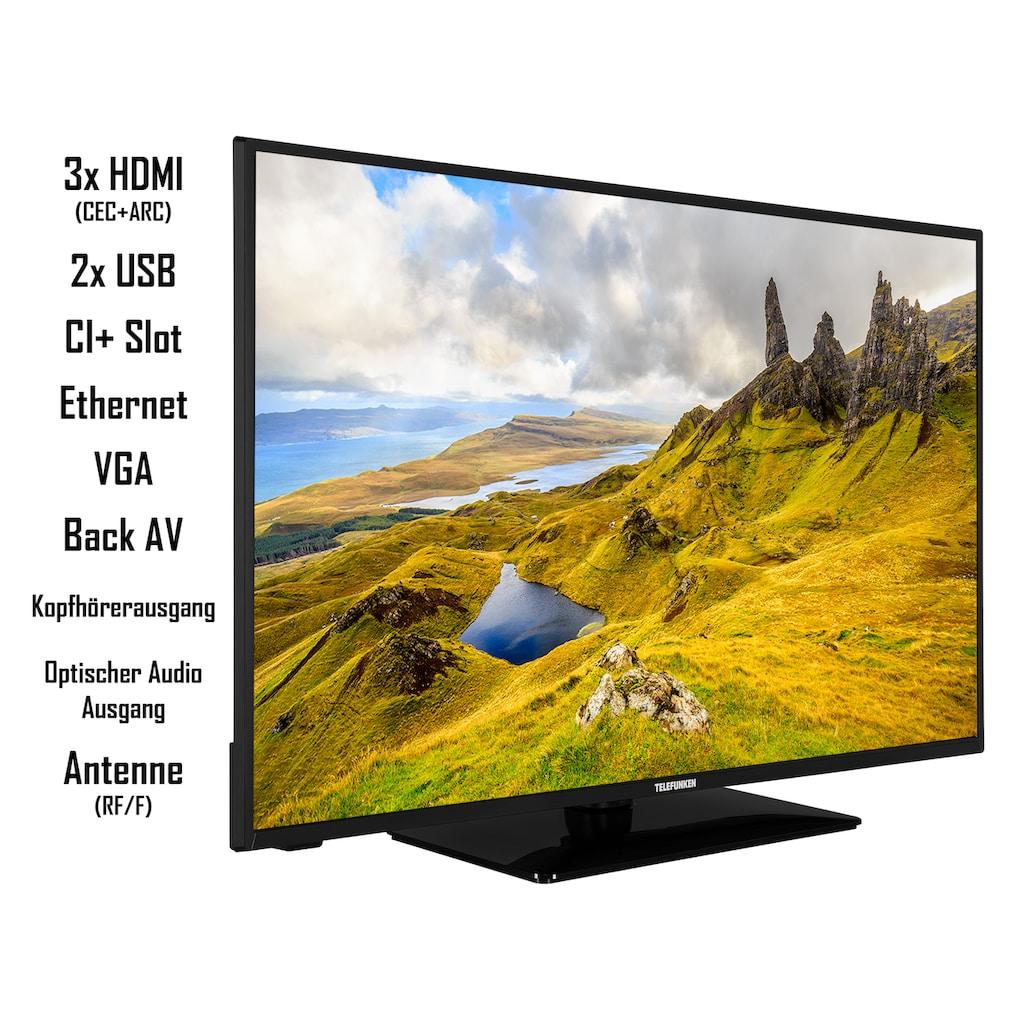 "Telefunken LED-Fernseher »D43U551N1CW«, 108 cm/43 "", 4K Ultra HD, Smart-TV"