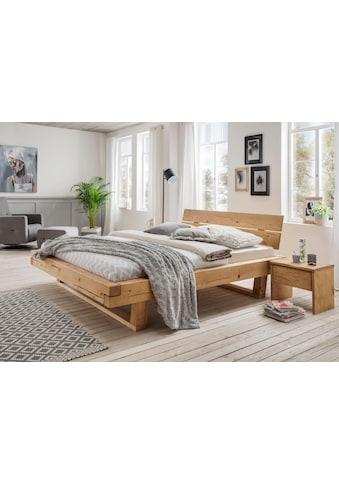 Premium collection by Home affaire Massivholzbett »Ultima«, aus massivem Holz in... kaufen