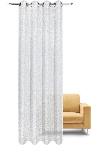 Gerster Vorhang »EMILIA«, HxB: 235x140, Feiner Ösenschal bedruckt kaufen