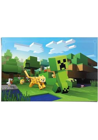 Reinders! Poster »Poster Minecraft«, Spiele, (1 St.) kaufen